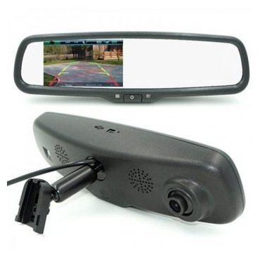 car dvd mirror